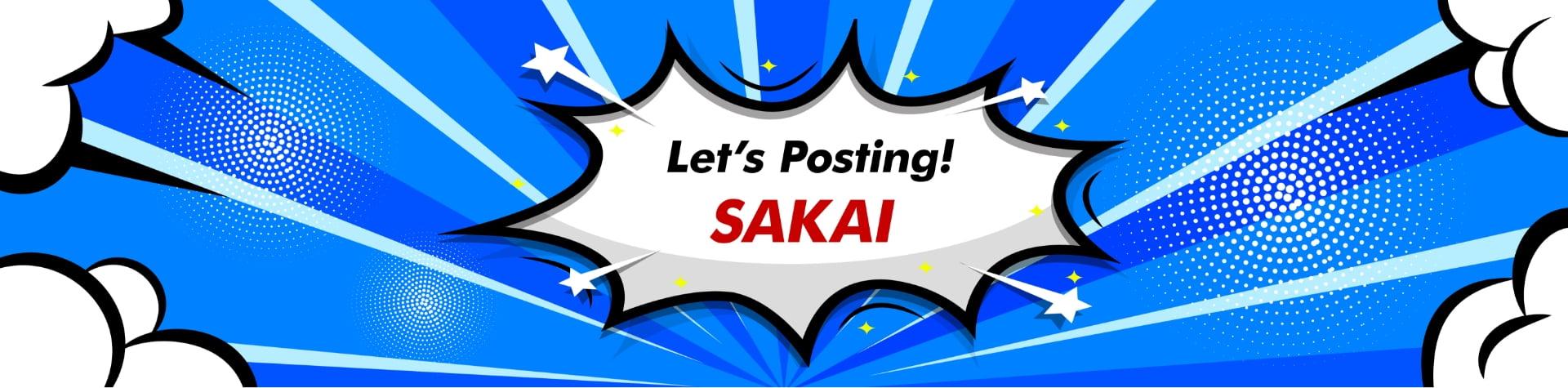Let's Posting! -sakai-