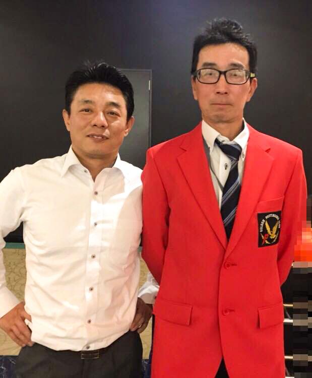 佐々木社長と古井氏